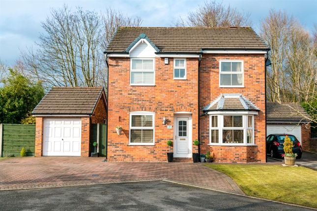 Thumbnail Detached house for sale in Ellendale Grange, Worsley, Manchester