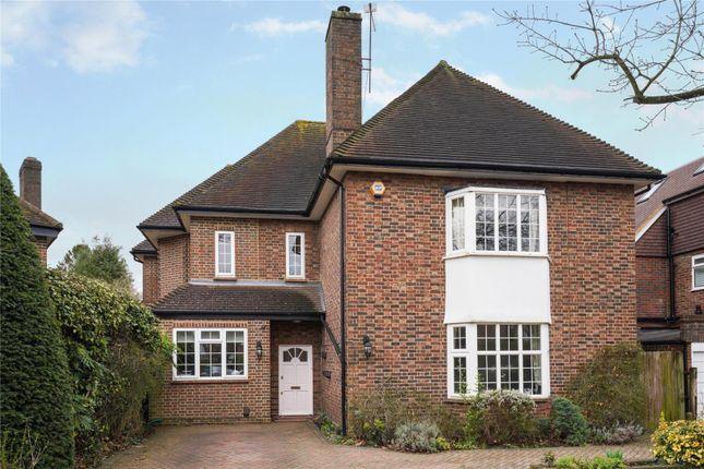 Thumbnail Detached house for sale in Oaklands Avenue, Esher, Surrey