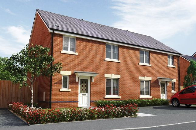 Thumbnail 3 bed semi-detached house for sale in Bedwellty Field, Britannia Walk, Pengam, Blackwood