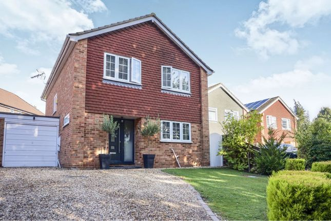 Thumbnail Detached house for sale in Rainbow Close, Old Basing, Basingstoke