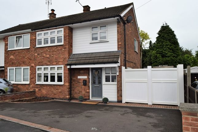 Thumbnail Semi-detached house for sale in Ivydale Road, Thurmaston, Leicester