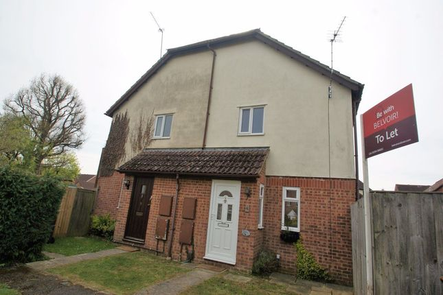 Thumbnail Terraced house to rent in Plover Close, Andover