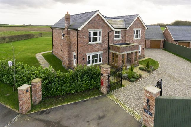 Thumbnail Detached house for sale in Northwich Road, Lower Whitley, Warrington