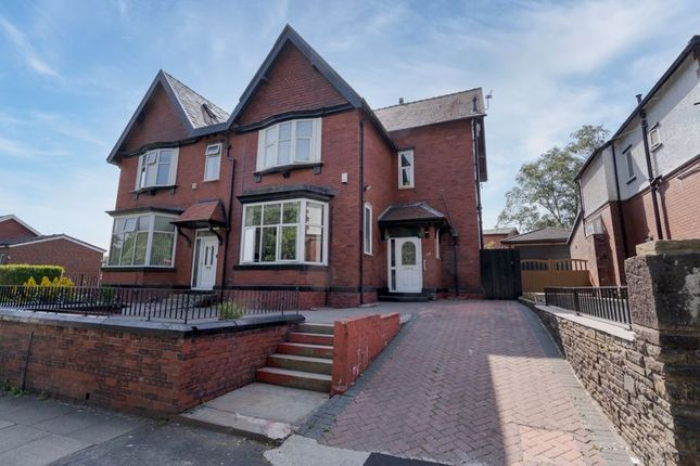 Thumbnail Semi-detached house for sale in Wigan Road, Deane, Bolton, Lancashire.