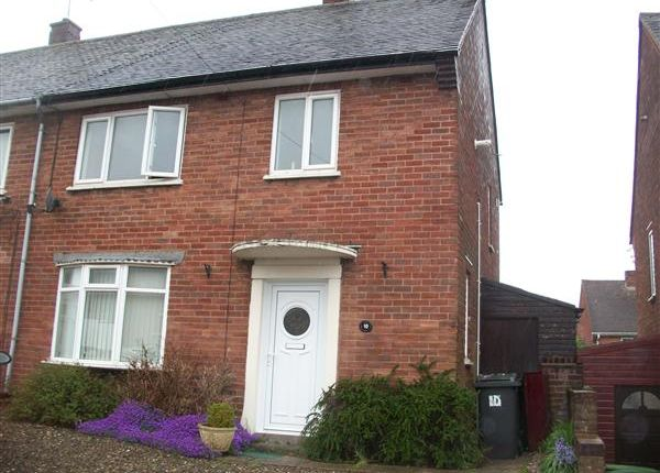 Thumbnail End terrace house to rent in Eastcroft Road, Warstones, Wolverhampton
