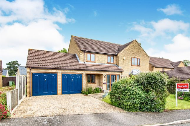 Thumbnail Detached house for sale in Hillview Road, South Witham, Grantham