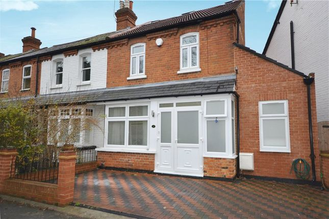Thumbnail End terrace house for sale in Kings Ride, Camberley, Surrey