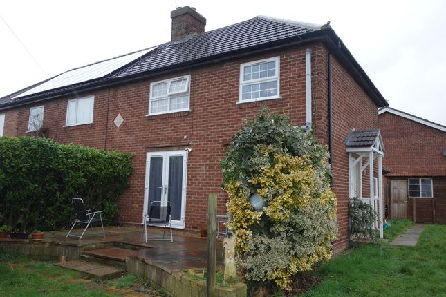 Thumbnail Semi-detached house for sale in Bowman, Playing Field Lane, Martham, Great Yarmouth