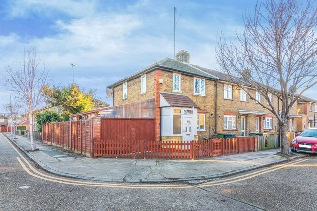 Thumbnail End terrace house for sale in St Clair Road, Plaistow, London
