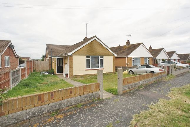 Thumbnail Detached bungalow for sale in Briarwood Avenue, Holland-On-Sea, Clacton-On-Sea