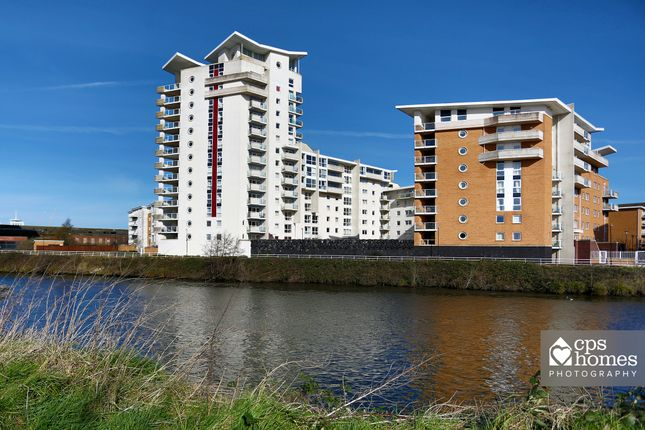 Thumbnail Terraced house to rent in Porto House, Century Wharf, Cardiff Bay