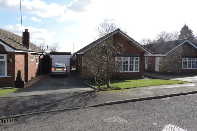 Thumbnail Detached bungalow for sale in Cherry Grove, Royton, Oldham