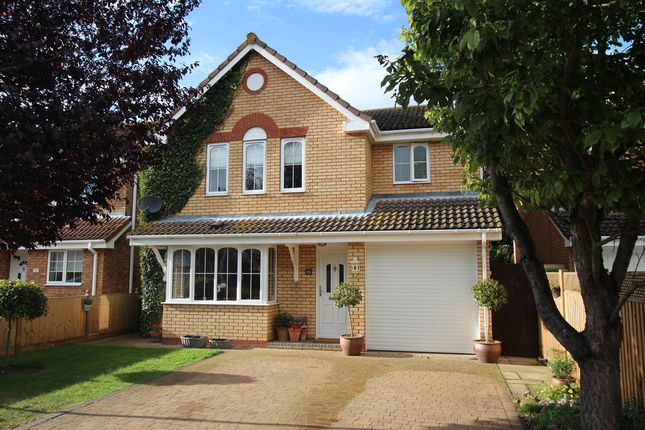 Thumbnail Detached house for sale in Temple Pattle, Brantham, Manningtree