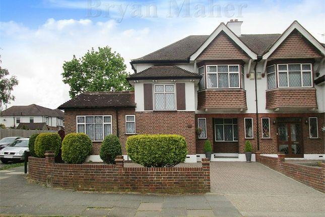Thumbnail Semi-detached house for sale in Shaftesbury Avenue, Kenton, Harrow