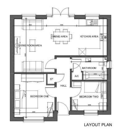 Thumbnail Bungalow for sale in Willow Wood, Newbold Coleorton