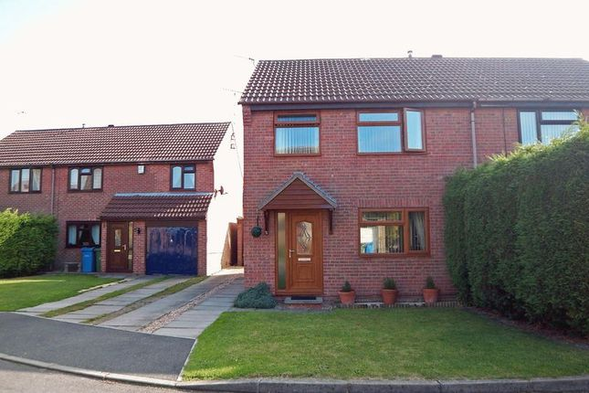 Thumbnail Semi-detached house to rent in Woodhall Green, Retford