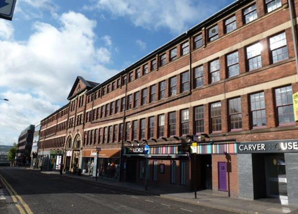 Office to let in Devonshire Works, Carver Street, Division Street, Sheffield