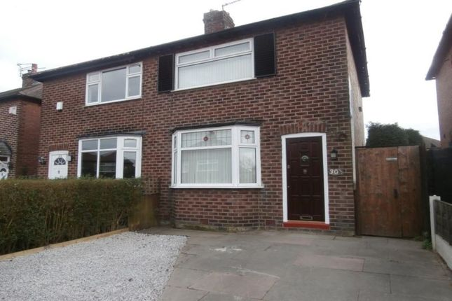 Thumbnail Semi-detached house to rent in Silverdale Avenue, Denton, Manchester