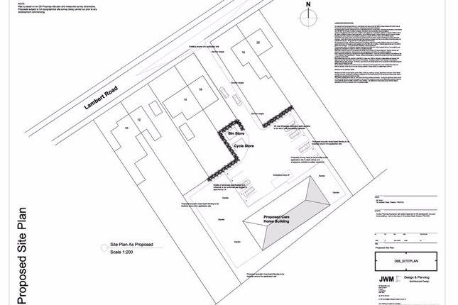 Thumbnail Land for sale in Lambert Road, Ribbleton, Preston