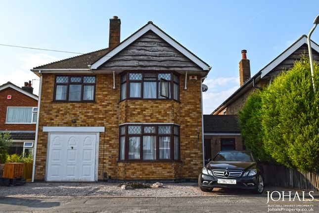 Thumbnail Detached house to rent in Harrowgate Drive, Birstall, Leicester