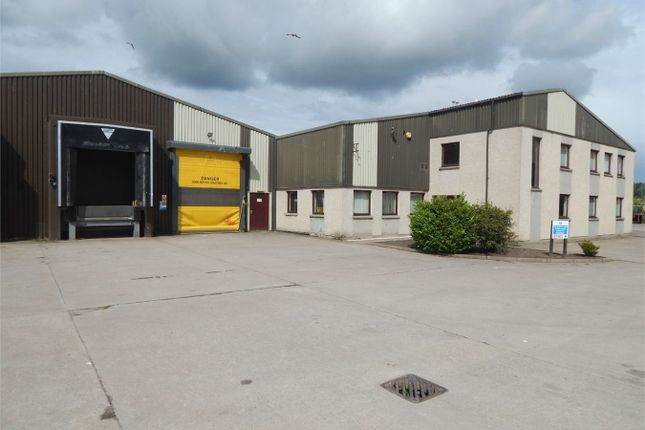 Thumbnail Commercial property for sale in Greshop Road, Greshop Industrial Estate, Forres