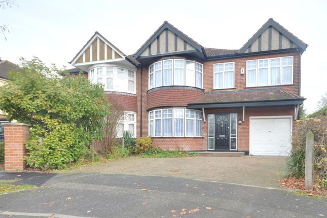 Thumbnail Semi-detached house to rent in Croft Gardens, Ruislip