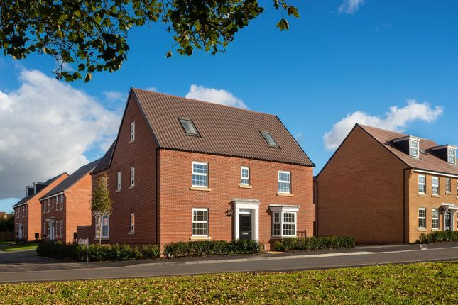 "Thumbnail Detached house for sale in ""Moorecroft"" at Park View, Moulton, Northampton"