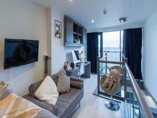 Thumbnail Flat to rent in Premium Mezzaine Studio, Parkside, Coventry