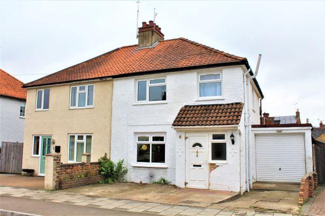 Thumbnail Semi-detached house to rent in Chrismas Avenue, Aldershot