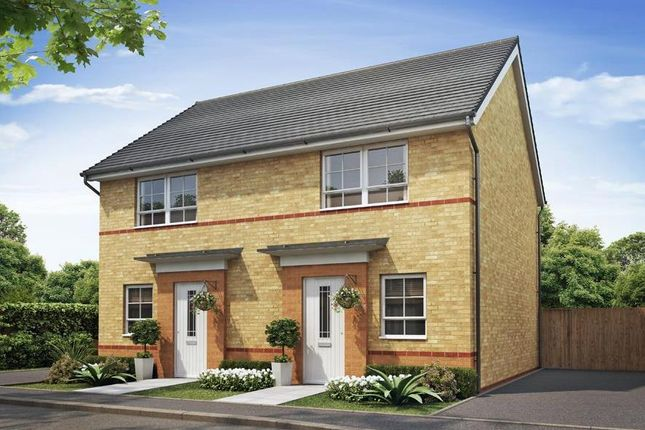 """Thumbnail Semi-detached house for sale in """"Washington"""" at Weston Hall Road, Stoke Prior, Bromsgrove"""