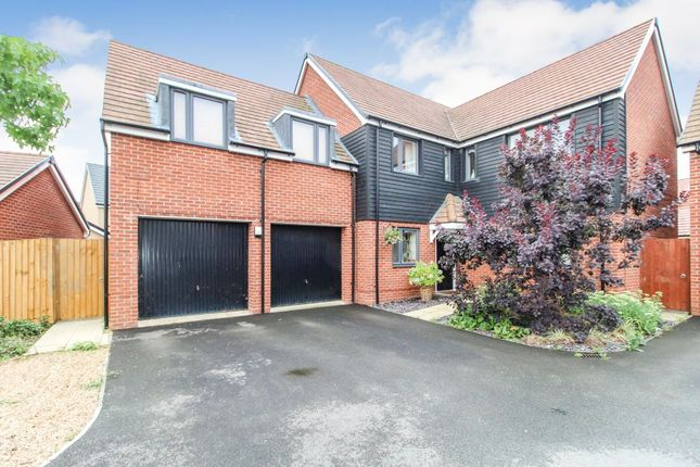 Thumbnail Detached house for sale in Parker Road, Wootton, Beds