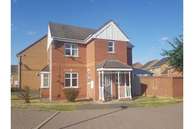Thumbnail Detached house for sale in Gavin Close, Thorpe Astley