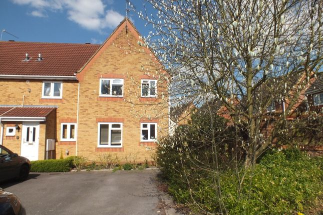 Thumbnail End terrace house for sale in The Shrubbery, Farnborough