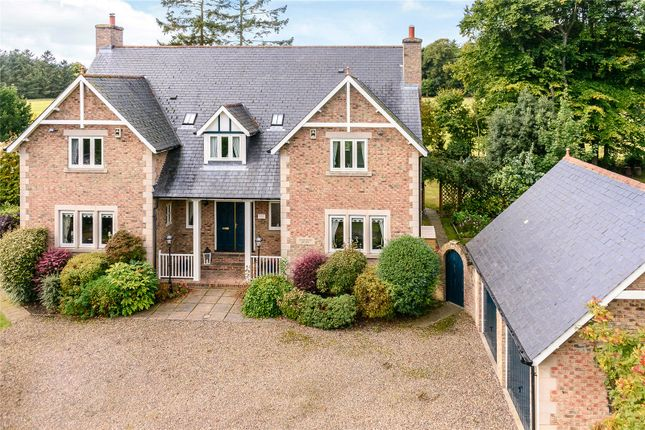 Thumbnail Detached house for sale in Bainbridge Lane, Eshott, Morpeth, Northumberland