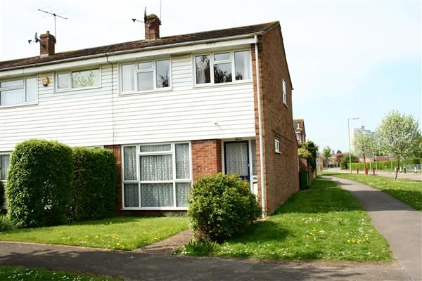 Thumbnail End terrace house to rent in Eastrop, Basingstoke Town, Hampshire