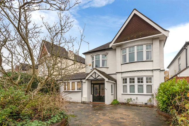 Thumbnail Detached house for sale in Chandos Avenue, Whetstone