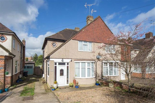Thumbnail Semi-detached house for sale in Chiltern Road, Dunstable, Bedfordshire