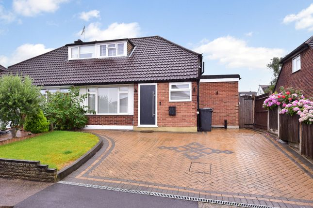 Thumbnail Semi-detached house for sale in Meadow Way, Potters Bar