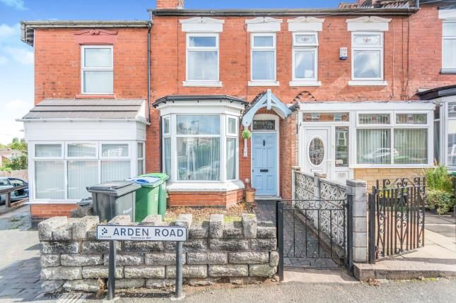 Thumbnail Terraced house for sale in Arden Road, Smethwick, Birmingham, West Midlands