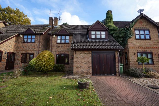 Thumbnail Detached house for sale in Cannon Close, Sandhurst