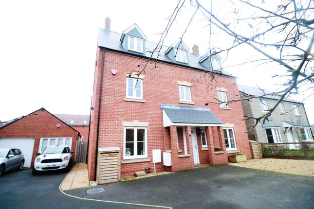 Thumbnail Detached house for sale in Thompson Way, West Wick, Weston-Super-Mare