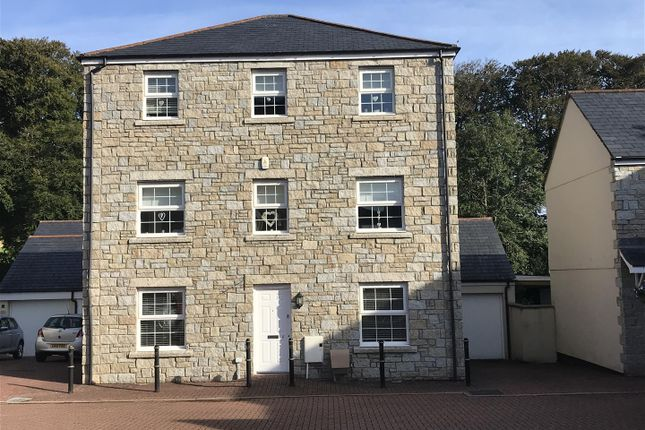 Thumbnail Detached house for sale in Hollow Crescent, Duporth, St. Austell