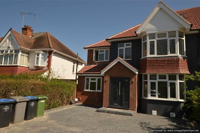 Thumbnail Semi-detached house for sale in Blenheim Gardens, Wembley, Greater London
