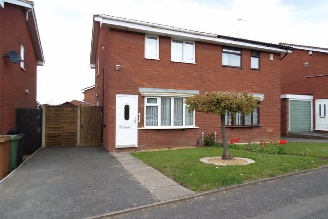 Thumbnail Semi-detached house to rent in Barns Lane, Rushall, Walsall