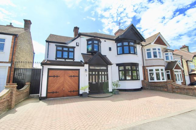 Thumbnail Semi-detached house for sale in Chelmsford Gardens, Ilford