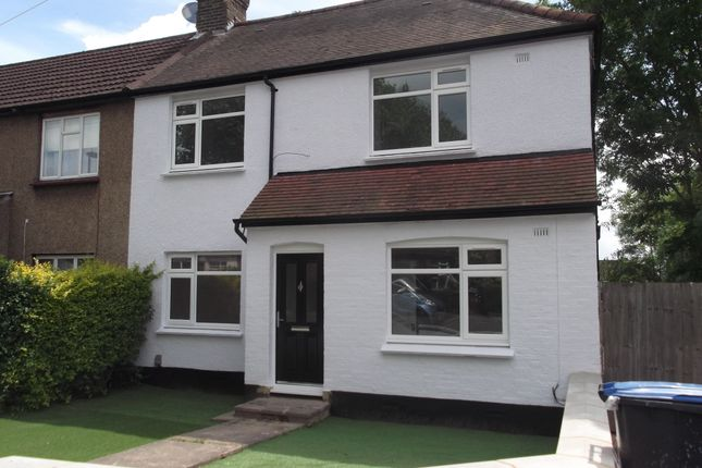 Thumbnail End terrace house to rent in Addison Avenue, Southgate