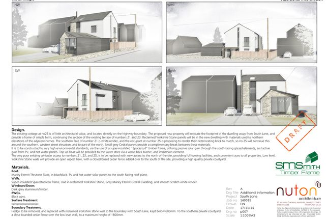 Thumbnail Land for sale in South Lane, Netherton, Wakefield