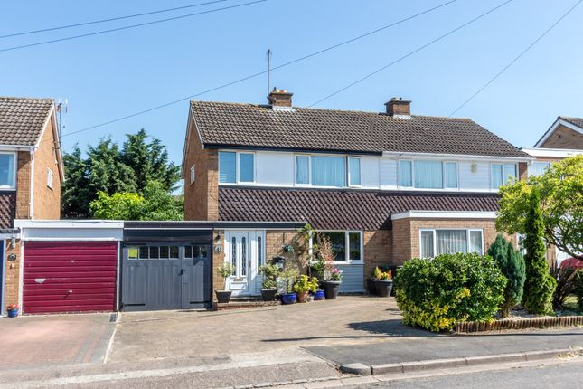 Thumbnail Semi-detached house for sale in Ashridge Close, Rushden