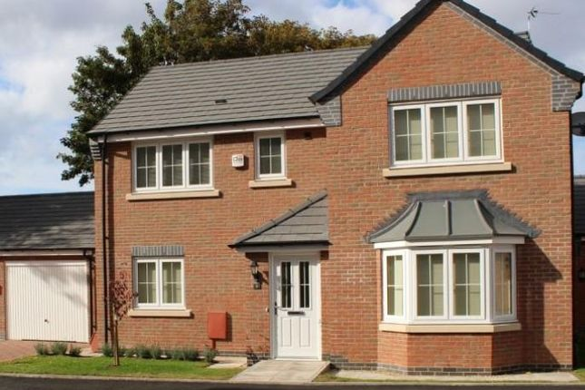 Thumbnail Detached house for sale in Cottage Lane, Broughton Astley, Leicester