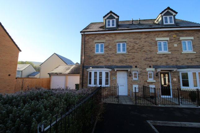 Thumbnail Town house for sale in Cae Alaw Goch, Aberdare, Mid Glamorgan